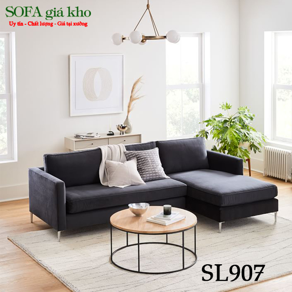 Ghế sofa văn phòng chữ L SL907