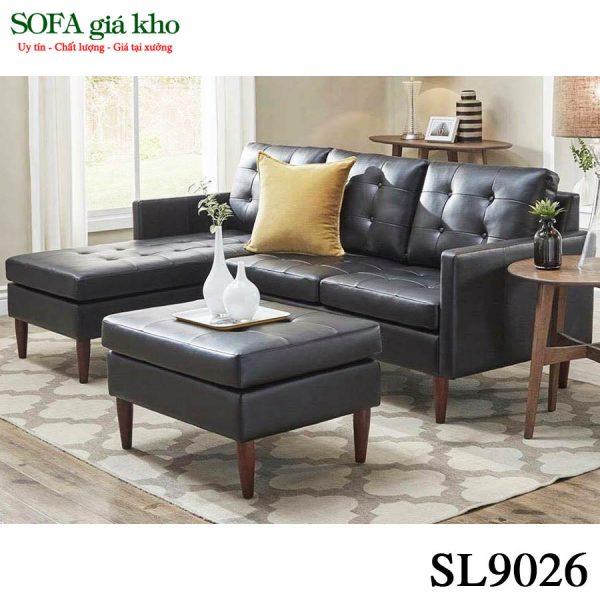 Ghế sofa văn phòng chữ L SL9026